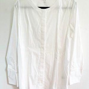 Prologue White Long Sleeve Tunic Blouse
